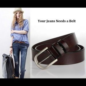 NWT! Vonsely Women Leather Waist Belts for Pants